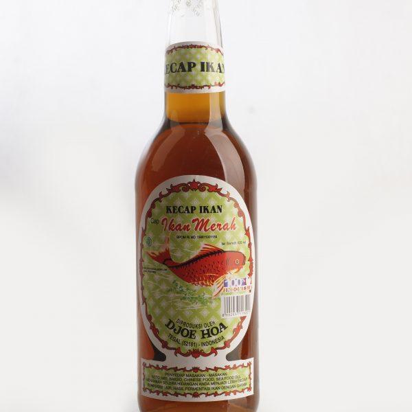 Kecap Ikan Cap Ikan Merah 620 Ml Kecap Djoe Hoa